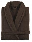 Sorema - Szlafrok z bawełny NEW PLUS Czekoladowy