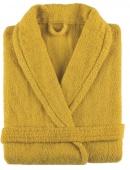 Sorema - Szlafrok z bawełny NEW PLUS Musztardowy
