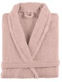 Sorema - Szlafrok z bawełny NEW PLUS Nude