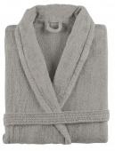 Sorema - Szlafrok z bawełny NEW PLUS Szary