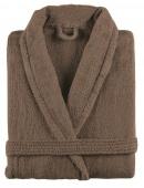 Sorema - Szlafrok z bawełny NEW PLUS Jasny brąz