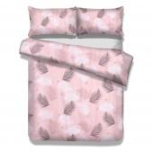 Pościel bawełniana w liście Premium Pink Palms FLEUR