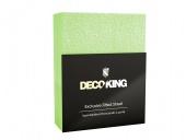 DecoKing – Prześcieradło Frota + Gumka - Seledynowy