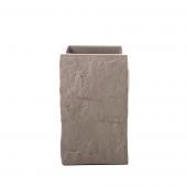 Sorema - Kubek łazienkowy Brązowy SHELTER