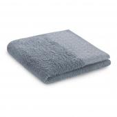 Ręcznik kąpielowy Bawełniany ze srebrnym zdobieniem Szary MIDAL