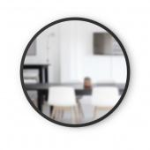 Umbra - Lustro ścienne 61 cm Okrągłe Czarne HUB
