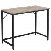Minimalistyczne biurko do komputera Jasny Orzech 100cm HAZEL