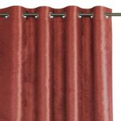 Zasłona zaciemniająca na przelotkach Glamour Czerwona 140x250 LUXUA