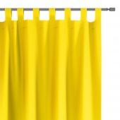 Zasłony dekoracyjne na szelkach Oxford Tie Back 140x250 cm Żółte ELEGANTE