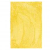 Dywan dekoracyjny ze średnim włosiem Prostokątny Miękki Żółty MODERN CHIC