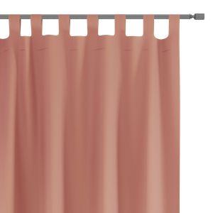 Zasłony dekoracyjne na szelkach Oxford Tie Back 140x250 cm Brudny Róż ELEGANTE
